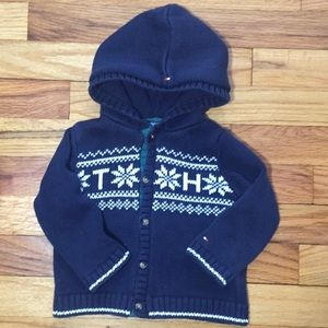 Tommy Hilfiger Knit sweater size 9-12 months